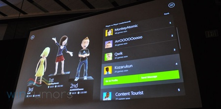 Xbox Live vo Windows 8 vrti crossplatform