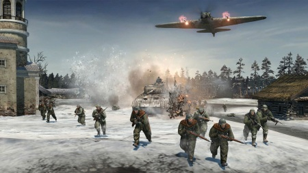 Momentky z vojny v Company of Heroes 2 