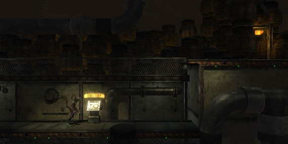 Prv zber z Oddworld Abes Oddysee HD