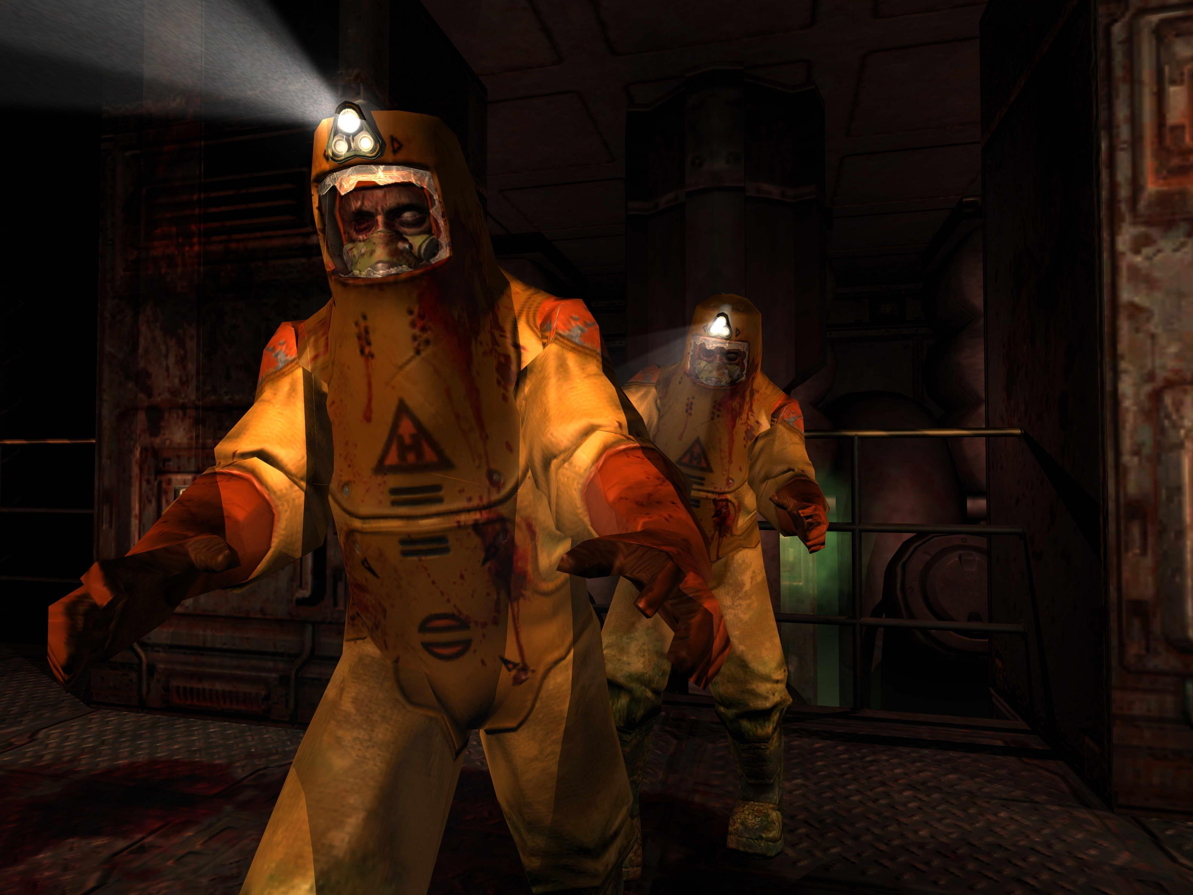 Doom 3 Resurrection of Evil на XBOX.