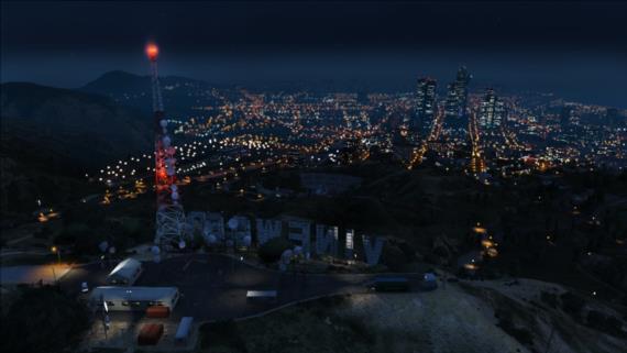 Scenérie nočného mesta sú geniálne