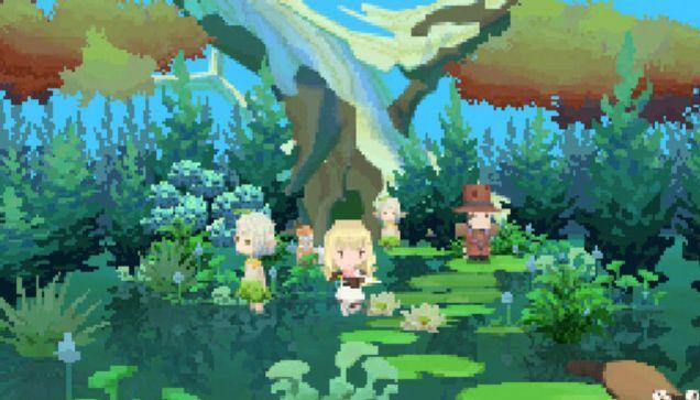 Jedna z graficky najkrajších častí hry.